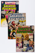 Silver Age (1956-1969):Adventure, My Greatest Adventure Group (DC, 1955-63) Condition: Apparent GD.... (Total: 46 Comic Books)