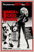 "Movie Posters:Exploitation, Wanda the Wicked Warden (Bernie Jacon, 1979). One Sheet (26"" X40""). Exploitation.. ..."