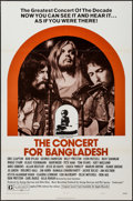 "Movie Posters:Rock and Roll, The Concert for Bangladesh (20th Century Fox, 1972). One Sheet (27""X 41""). Rock and Roll.. ..."