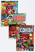 Bronze Age (1970-1979):Adventure, Conan-Related Box Lot (Marvel, 1972-92) Condition: Average NM.... (Total: 2 Box Lots)