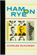 Books:Fiction, [Featured Lot]. Charles Bukowski. INSCRIBED. Ham on Rye.Santa Barbara: Black Sparrow Press, 1982. First Edition...