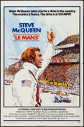 "Movie Posters:Sports, Le Mans (National General, 1971). One Sheet (27"" X 41""), Pressbook (20 Pages, 8.5"" X 14""), & Mini Lobby Cards (6) (8"" X 10"")... (Total: 8 Items)"