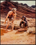 """Movie Posters:Science Fiction, Planet of the Apes (20th Century Fox, 1968). Deluxe Lobby Card Setof 8 (7.5"""" X 10"""") & (16"""" X 20"""") (1). Science Fiction.. ...(Total: 17 Items)"""