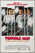 "Movie Posters:Blaxploitation, Trouble Man (20th Century Fox, 1972). One Sheet (27"" X 41"") & Photos (6) (8"" X 10""). Blaxploitation.. ... (Total: 7 Items)"