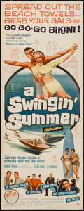 "Movie Posters:Rock and Roll, A Swingin' Summer (United Screen Arts, 1965). Insert (14"" X 36"").Rock and Roll.. ..."