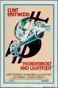 "Thunderbolt and Lightfoot (United Artists, 1974). One Sheet (27"" X 41"") Style D. Crime"