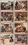 "Movie Posters:Adventure, Lassie Come Home (MGM, 1943). Lobby Card Set of 8 (11"" X 14""). Adventure.. ... (Total: 8 Items)"