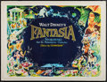 "Movie Posters:Animation, Fantasia (Walt Disney, R-1963). British Quad (30"" X 40"").Animation.. ..."