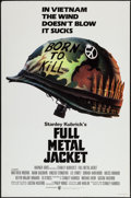 "Movie Posters:War, Full Metal Jacket (Warner Brothers, 1987). One Sheets (2) (27"" X41"") Regular and Review Style. War.. ... (Total: 2 Items)"