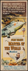 """Movie Posters:Science Fiction, Master of the World (American International, 1961). Insert (14"""" X36""""). Science Fiction.. ..."""