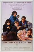 "Movie Posters:Drama, The Breakfast Club (Universal, 1985). One Sheet (27"" X 41""). Drama.. ..."