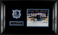 Basketball Collectibles:Photos, 2005-06 Dallas Mavericks Team Signed Photograph Display....