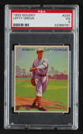 Baseball Cards:Singles (1930-1939), 1933 Goudey Lefty Grove #220 PSA VG 3....