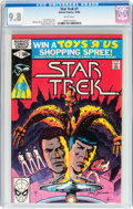 Modern Age (1980-Present):Science Fiction, Star Trek #7 (Marvel, 1980) CGC NM/MT 9.8 White pages....