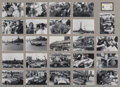 Automobilia, MONTAGE OF REPRINT PHOTOS FROM THE GRAND PRIX OF CUBA. 32 x 42inches (81.3 x 106.7 cm). ...