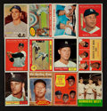Baseball Cards:Lots, 1957 - 1975 Topps Yankees Collection (166) with 9 Mantle's. ...