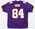 Football Collectibles:Uniforms, Randy Moss Signed Minnesota Vikings Jersey....