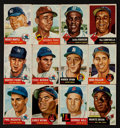 Baseball Cards:Sets, 1953 Topps Baseball Near Set (246/274). ...