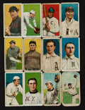 Baseball Cards:Lots, 1909-11 T206 White Borders Tobacco Card Group (12). ...