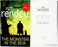 Books:Mystery & Detective Fiction, Ruth Rendell. SIGNED. The Monster in the Box. London:Hutchinson, [2009]. Signed by the author....