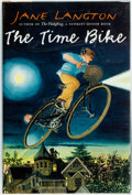 Books:Children's Books, Jane Langton. The Time Bike. Harper Collins, 2000. Firstedition. Bookplate laid-in is signed by the author....