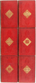 Books:Children's Books, Hans Christian Anderson. Six Collections of Hans Christian AndersonStories. London: Routledge and Sons, [n.d.]. Six volumes... (Total:6 Items)