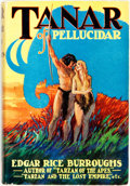 Books:Science Fiction & Fantasy, Edgar Rice Burroughs. Tanar of Pellucidar. New York: Grosset & Dunlap, [1930]....
