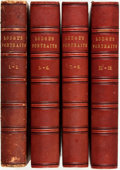 Books:World History, Edmund Lodge. Portraits of Illustrious Personages of Great Britain. London: Harding and Lepard, 1835. Volumes I,... (Total: 4 Items)