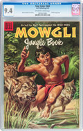 Golden Age (1938-1955):Miscellaneous, Four Color #620 Mowgli Jungle Book (Dell, 1955) CGC NM 9.4 Off-white to white pages....