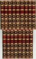 Books:Literature Pre-1900, Lord [George Gordon Noel] Byron. The Works Of Lord Byron: WithHis Letters And Journals, And His Life, By Thomas Moore, ...(Total: 17 Items)