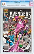 Modern Age (1980-Present):Superhero, The Avengers #268 (Marvel, 1986) CGC MT 9.9 White pages....