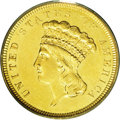Three Dollar Gold Pieces: , 1854-O $3 MS61 PCGS. This issue has the dual distinction ofrepresenting the first-year of issue for the denomination, and ...