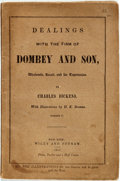 Books:Literature Pre-1900, Charles Dickens. Dealings with the Firm of Dombey and Son,Wholesale, Retail, and for Exportation. With illustration...