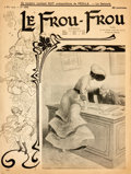 Books:Periodicals, [Illustrated Periodical] Le Frou-Frou. May 2, 1903. 15pages. A bit toned with some edgewear, else very good.From...