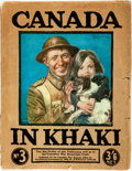 Books:Periodicals, [Periodical] Canada in Khaki, No. 3. London: The PictorialNewspaper Co., 1919. Original wrappers. 156 pages plu...