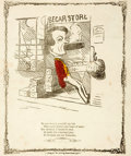 Books:Prints & Leaves, Print, Begar Store. New York: T. W. Strong, [n.d.]. Measures8 x 9.25 inches. Some folding creases and foxing. Good....