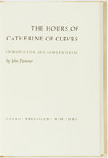 Books:Art & Architecture, John Plummer, editor. The Hours of Catherine of Cleves. New York: George Braziller, [n.d.]....