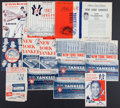 Baseball Collectibles:Publications, 1958-64 New York Yankees Scorecards and Yearbooks Lot of 15....
