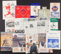 Baseball Collectibles:Others, 1960's-80 New York Mets, Etc Programs and More Lot (15)....