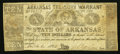 Obsoletes By State:Arkansas, (Little Rock), AR- Arkansas Treasury Warrant $10 Mar. 6, 1862 Cr. 58. ...