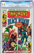 Bronze Age (1970-1979):Superhero, Amazing Adventures #3 The Inhumans and The Black Widow - TwinCities pedigree (Marvel, 1970) CGC NM/MT 9.8 White pages....