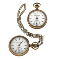 Timepieces:Pocket (post 1900), Two Elgin's 18 Size Pocket Watches. ... (Total: 2 Items)