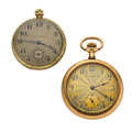 Timepieces:Pocket (post 1900), Hampden & Knickerbocker Open Face Pocket Watches. ... (Total: 2 Items)