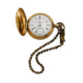 Timepieces:Pocket (post 1900), Columbus Watch Co. 18 Size Hunter's Case Pocket Watch. ...