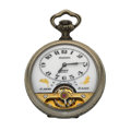 Timepieces:Pocket (post 1900), Arnex 8-Day Hebdomas Pocket Watch With Exposed Balance. ...