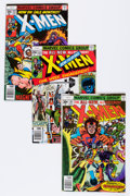 Modern Age (1980-Present):Superhero, X-Men Group (Marvel, 1977-89) Condition: Average VF.... (Total: 114Comic Books)