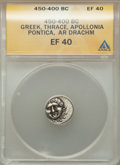 Ancients:Greek, Ancients: Lot of five Greek AR and AE coins. Ca. 450-65 BC....(Total: 5 coins)