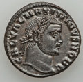 Ancients:Roman Imperial, Ancients: Lot of eight BIL folles of Galerius as Caesar (AD293-305).... (Total: 8 coins)