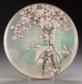 Asian:Japanese, A KOSHIDA JAPANESE SATSUMA PORCELAIN CHARGER. Marks: (Koshidacharacter mark). 15 inches diameter (38.1 cm). Property of t...