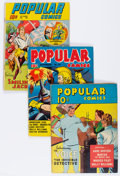 Golden Age (1938-1955):Miscellaneous, Popular Comics Group (Dell, 1940-47) Condition: Average VG/FN.... (Total: 12 Comic Books)